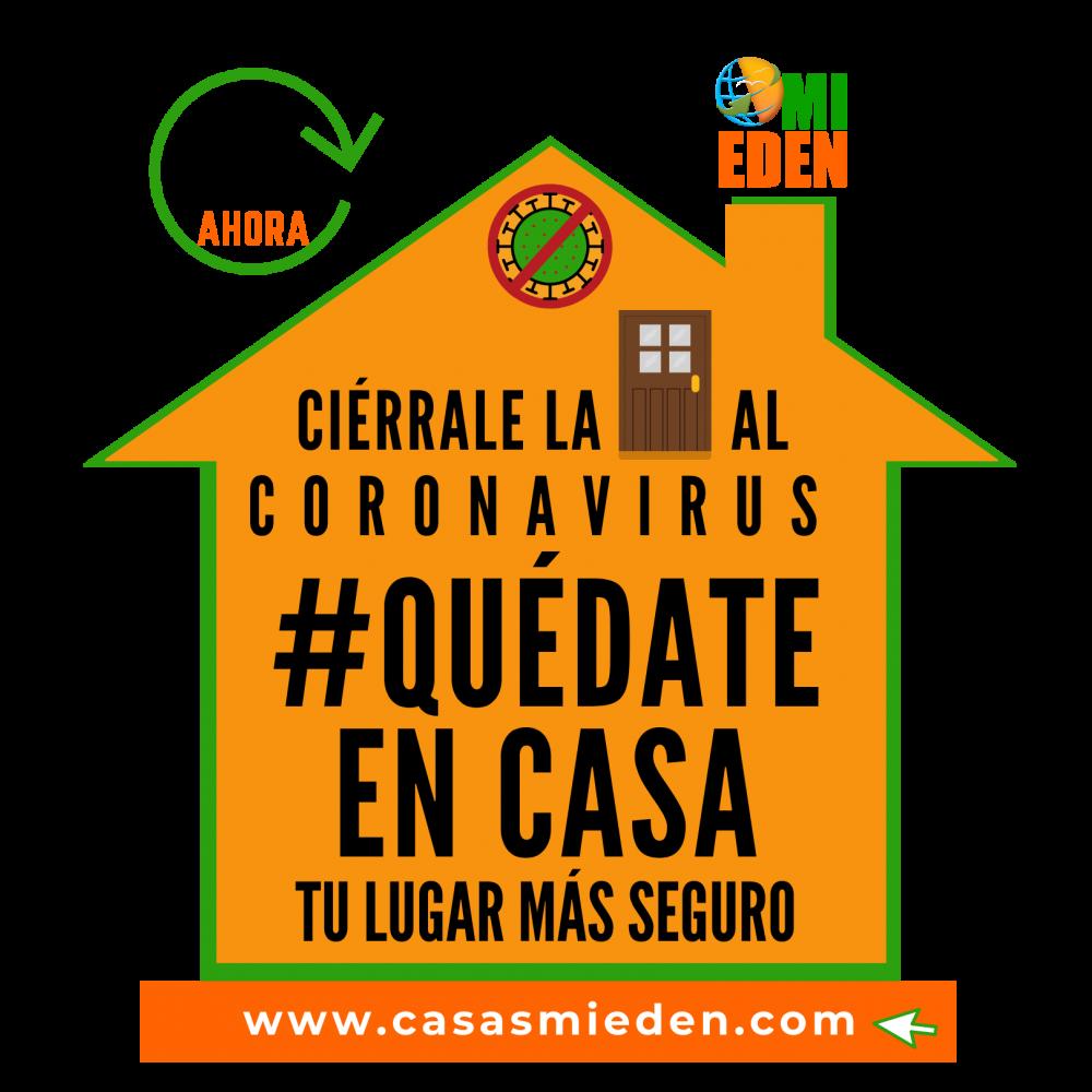 QUEDATE EN CASA CORONAVIRUS